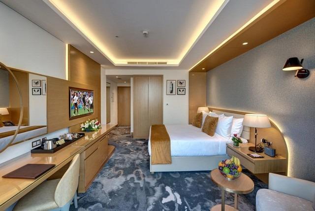 يقدم فندق ذا اس البرشاء العديد من الغرف الفاخرة