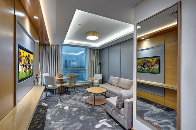 يتميز فندق ذا اس البرشاء بتوفير أماكن واسعة للإقامة الهانئة.