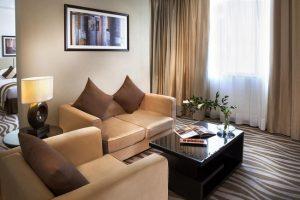 الاجنحة الفندقية ابوظبي وروعة الأثاث والمرافق