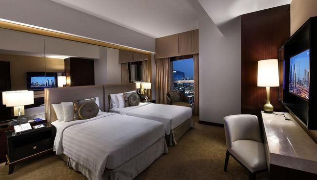 غُرف عائلية شاملة المرافق في فندق دوست تاني دبي