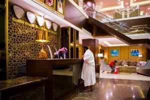 يوفر فندق المرجان كروم مكة أماكن للإقامة الهادئة