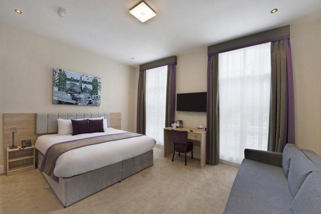 بيت أو واي أو 30 سوسيكس المستقل واحدة من أفضل شقق للايجار في لندن اجور رود التي تضم غرف مُبهرة