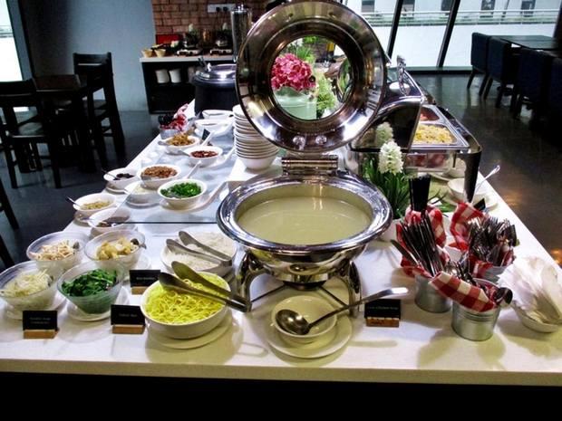 تقدم شقق اسكوت كوالالمبور خيارات طعام جيدة وإفطار متنوع