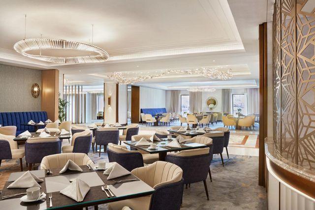يضم فندق أتلانتس النخلة في دبي عدة مطاعم راقية