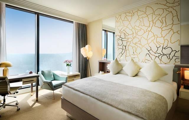 يتميّز  بوليفارد هوتيل باكو أوتوغراف كولكشن بموقع مُميّز بين فنادق باكو على البحر