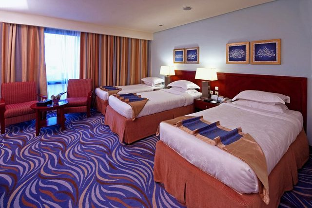 فندق دار الإيمان واحد من  مجموعة فنادق مطلة ع الحرم