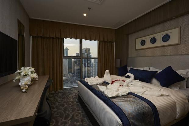فندق الحمراء أحد فنادق بنيد القار في الكويت يوفر خدمة مميزة وإطلالة رائعة