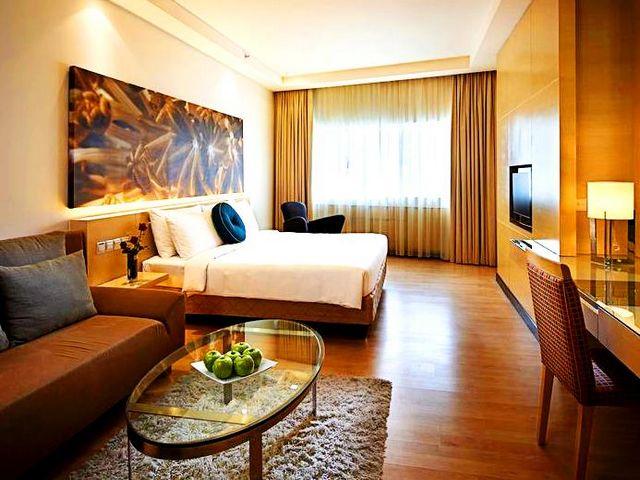 كافة مساحات الإقامة في فنادق كوالا شارع العرب متكاملة الخدمات والتجهيزات