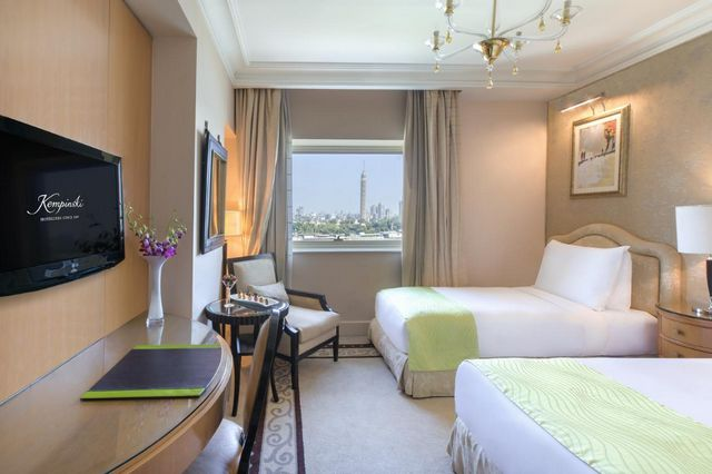 توفر فنادق القاهرة على النيل غرف عائلية فسيحة