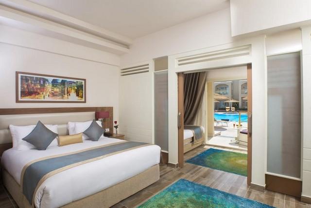 فندق اكوا بلو شرم الشيخ من فنادق 4 نجوم شرم الشيخ التي تضم غُرف مُتصّلة.