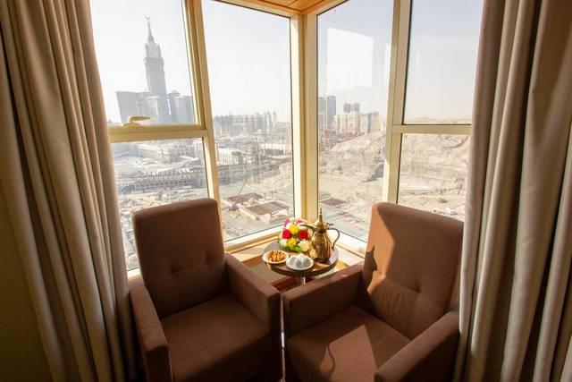 يُعد فندق جراند مكه من افضل فنادق مكة 5 نجوم بسبب موقعه المُميّز