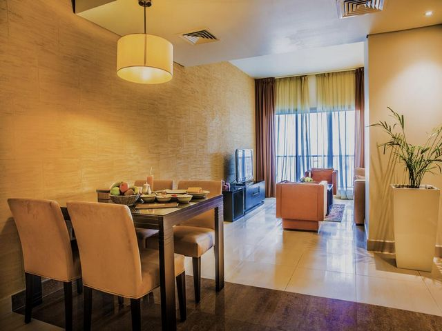 مساحات إقامة واسعة في افضل شقق فندقية في قطر قريبه من سوق واقف