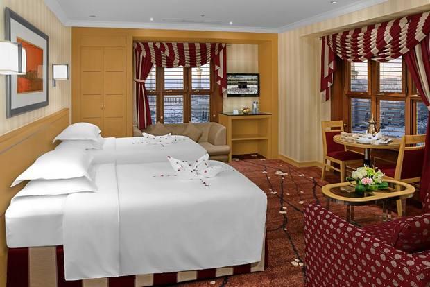 من فنادق مطلة على الحرم يوفر موقع جيد ومرافق متنوعة بالغرفة