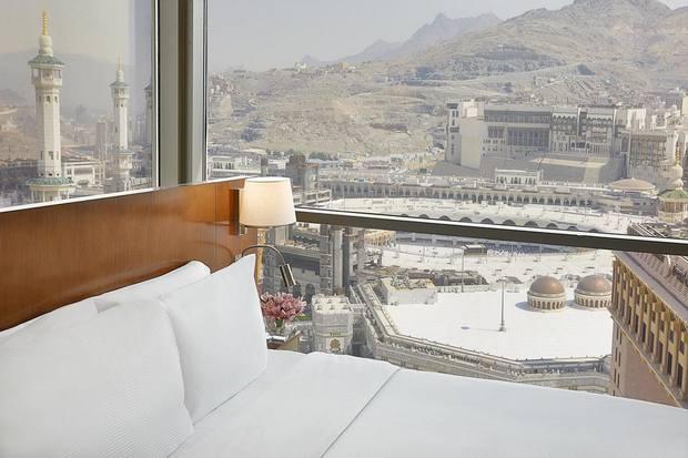 من أفضل الفنادق المطله على الحرم والتي تتميز بمستوى خدمة راق