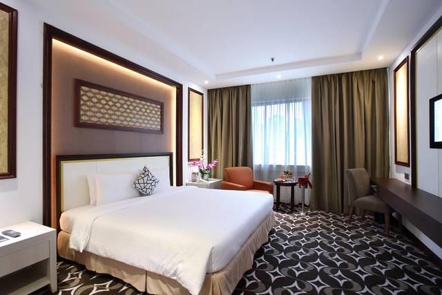 يتميز فندق كوراس كوالالمبور عن فنادق اربع نجوم في كوالالمبور بموقع
