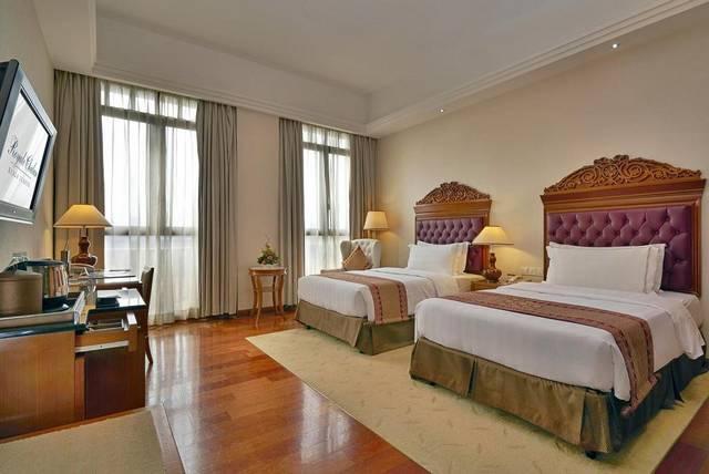 فندق رويال شولان كوالالمبو يحتوي على غرف مُتنوة تُناسب كافة الأذواق وهو من افضل  فنادق 5 نجوم في كوالالمبور