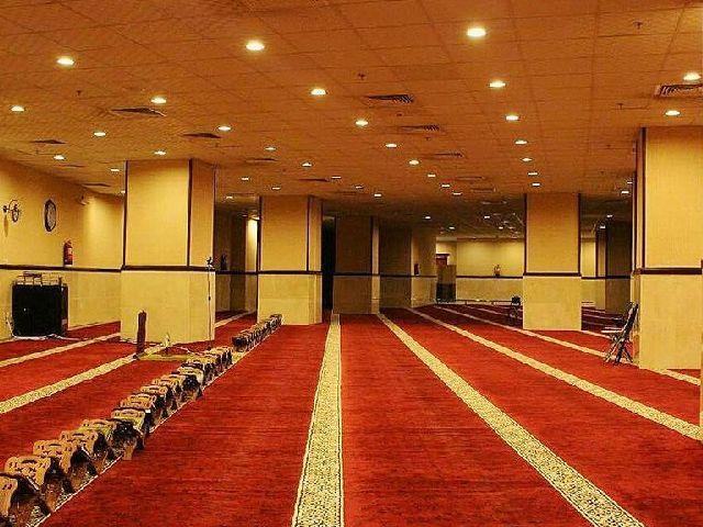 مصلى رائع وهادئ لأداء العبادات في فندق الارض المتميزة مكة