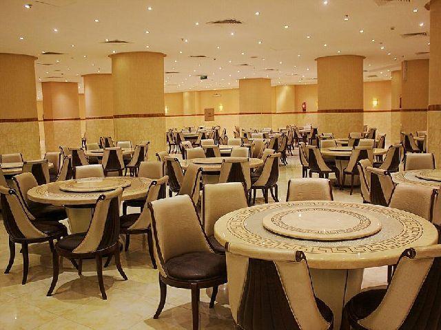 قاعة الاجتماعات في فندق الارض المتميزة شارع التيسير مكة