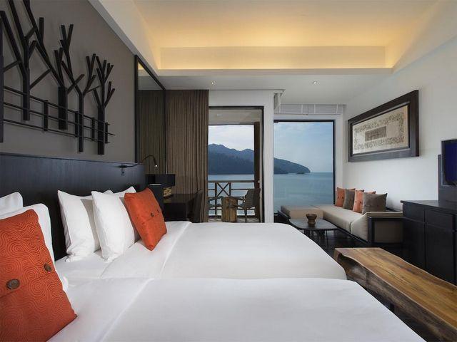 الإقامة في فنادق لنكاوي المطله على البحر من أجمل خيارات الاستجمام
