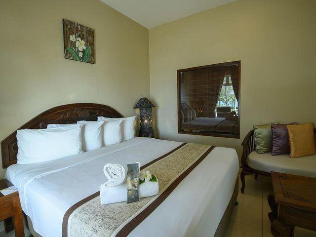مساحات إقامة واسعة في إحدى فنادق في لنكاوي على البحر