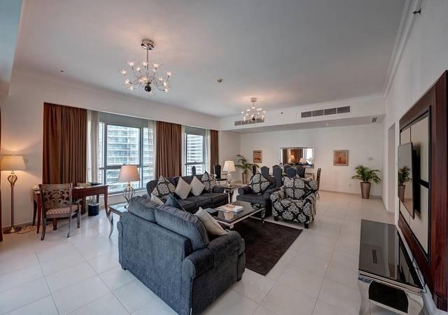 يُعد مارينا للشقق الفندقية دبي افضل فنادق دبي بسبب موقعه المُميّز