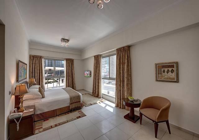 مارينا للشقق الفندقيه مرسى دبي يتميّز بالرقي والفخامة والغرف ذات التجهيزات العصرية