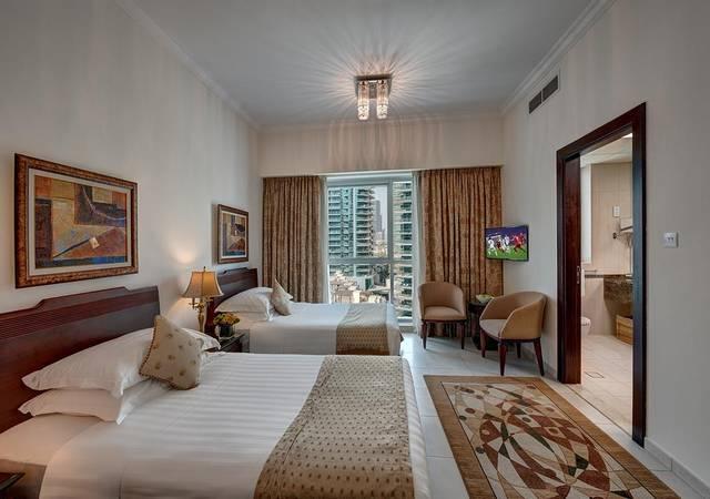 مارينا للشقق الفندقيه في دبي يتميّز بضمه للعديد من المرافق والخدمات الرائعة