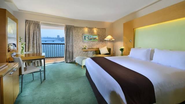 يتميّز فندق سوفيتيل القاهرة بموقع مُميّز بين افضل فنادق القاهرة على النيل