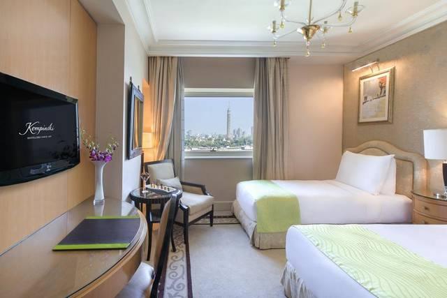 يُعد فندق كمبنسكي النيل القاهرة افضل فنادق القاهرة على النيل لضمه خدمات عديدة مما يجعله الخيار الأمثل