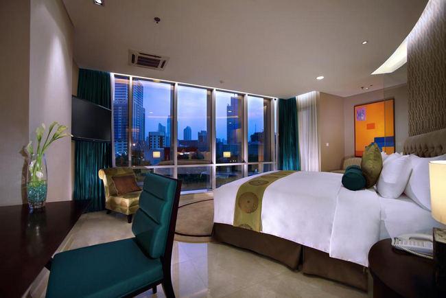 فنادق جاكرتا خمس نجوم تحتوي على أجنحة فاخرة بإطلالات على المدينة