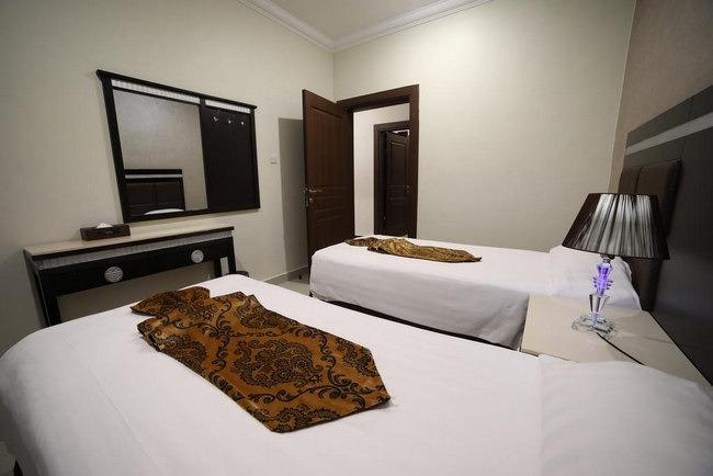 غُرف عائلية أنيقة في افضل الشقق الفندقية في الكويت