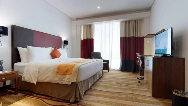 ستايبريدج سويتس - جدة الأندلس مول يمتلك موقع مُميز جعلته اجمل فندق بين افضل فنادق جدة خمس نجوم