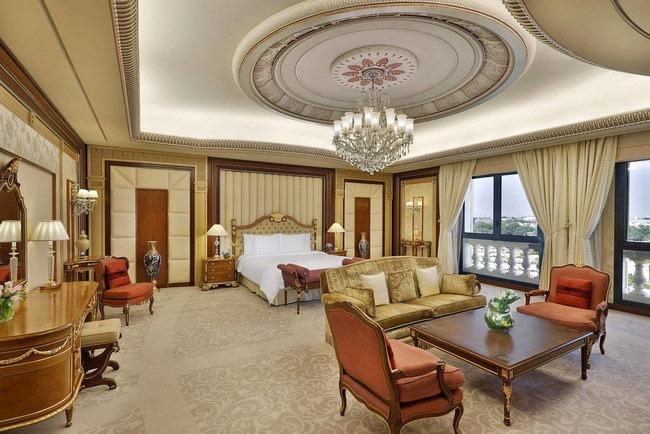 ديكورات فخمة و أثاث فاخر في فندق حي السفارات الرياض