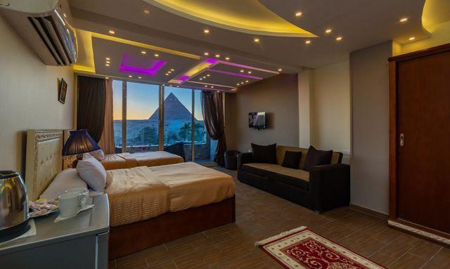 تقرير يضم ارخص فنادق الجيزه