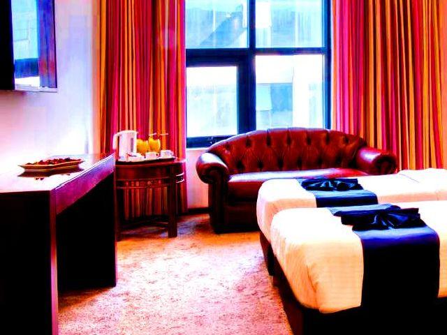 توفر عدة فنادق في شارع الوكالات عمان مساحات إقامة تناسب العائلات