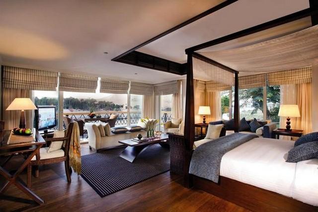 أحد أرقى فنادق أسوان حيث يقع على جزيرة الفنتين الرائعة.