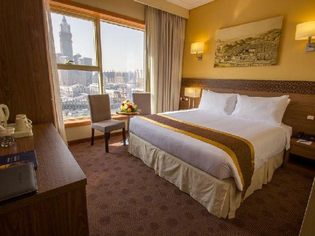 غرف قياسية بإطلالة رائعة لفندق جراند مكه من فنادق شعب عامر مكة المكرمة
