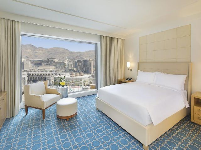 يمكنك حجز فنادق مكه جبل عمر والاستمتاع بالإطلالة الرائعة على الحرم
