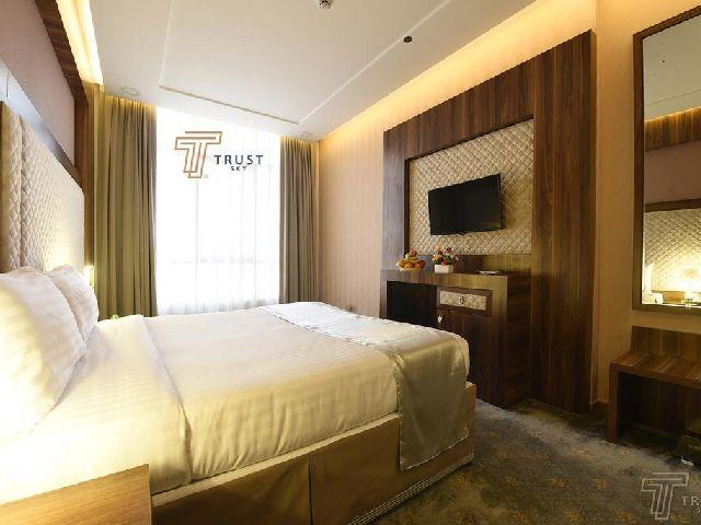 غرفة قياسية لفندق ترست سكاي من قائمة فنادق المسفلة شارع ابراهيم الخليل