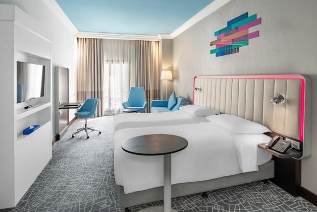 تتعدد أنواع الغرف في فندق بارك ان مكه
