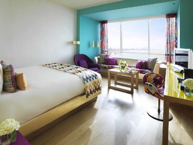 فندق سيمفوني الكويت المشهور بأناقة ألوانه وتصميمه من فنادق السالميه خمس نجوم فنادق