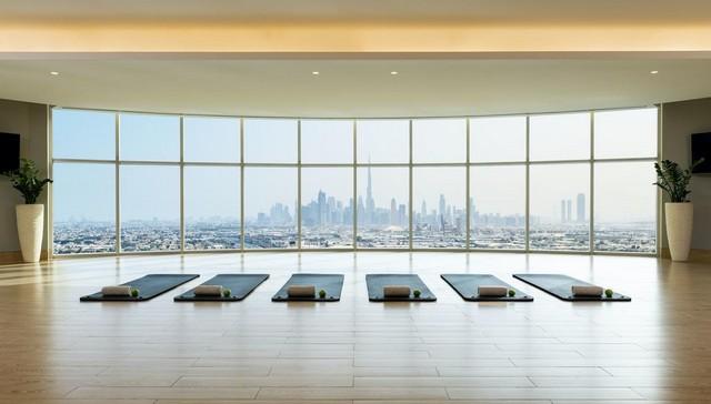 يوفر فندق شيراتون الامارات مول مجموعة رائعة من مرافق العافية المُمتعة