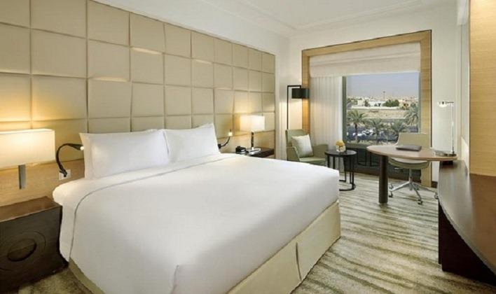 مجموعة غرف مميزة توفرها افضل فنادق في حي المروج الرياض .