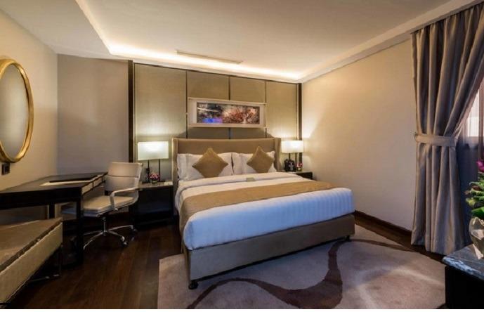 فنادق على طريق الشيخ جابر بالرياض بتصنيفاتها المختلفة تناسب كافة الفئات.