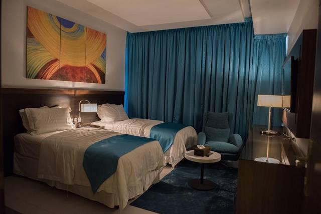 يُعد فندق فيلفيت إن سويتس أفخم الشقق لكونها تتميز بموقع رائع عند حجز شقق جدة