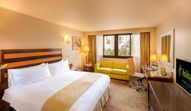 تُصنّف سلسلة فندق هوليدي ان الرياض  كأفضل سلسلة عالمية فهي توفر أماكن إقامة مُميّزة