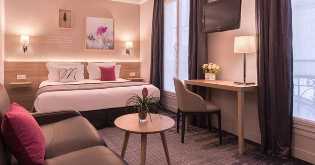 أحد ارخص فنادق في باريس التي تخدم رجال الأعمال والعوائل