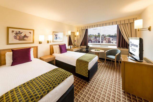 فندق كوبثورن تارا لندن كنسينغتون من أهم ميّزاته قربه من أهمّ شوارع لندن الشهيرة