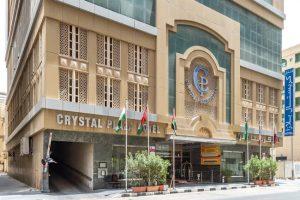 فندق كريستال بلازا الشارقة بموقع مركزي في الشارقة