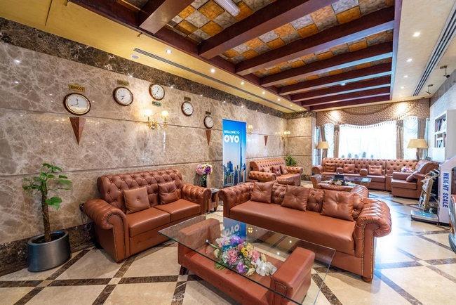 لوبي فندق كريستال بلازا الشارقة الراقي